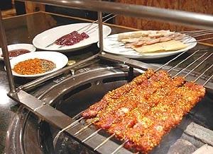 中国延辺料理「金達莱」