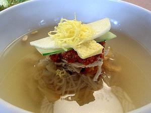 【韓国】冷麺