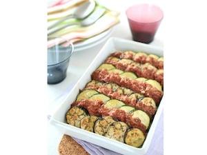 季節野菜のコンビーフグリル