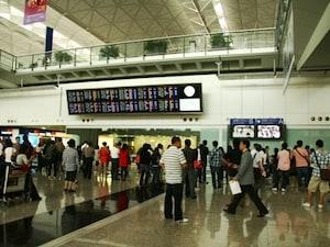 【香港】香港国際空港