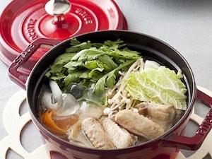 コラーゲン入り鶏しょうが鍋