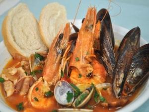ナポリの漁師料理 ズッパディペッシェ