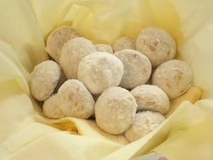 1個19kcal!癒やし系クッキー「ブール・ド・ネージュ」