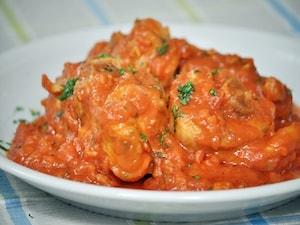 骨付き鶏肉を使って イタリアンカチャトーラ
