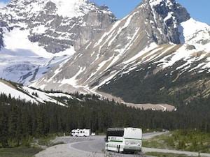 世界屈指の山岳道路!アイスフィールドパークウェイ