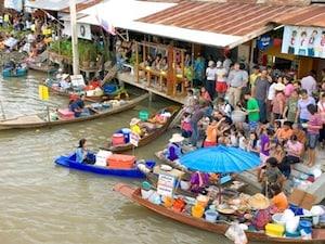 【タイ】アムパワー水上マーケット