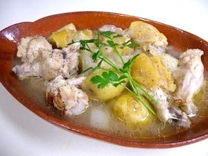 鶏手羽の塩レモン煮