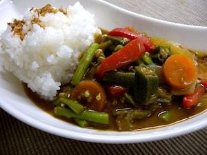 スチーマーで作る野菜カレー