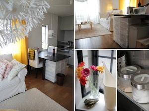 「流行りの北欧スタイル」IKEAの家具を配置したコーディネート