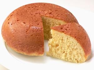 餅入り、もちもちケーキ