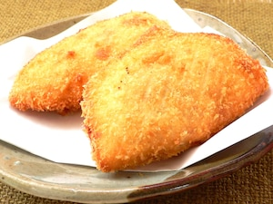 切り餅のパン生地でカレーパンに