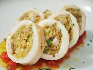 南イタリアのイカの詰め物焼き