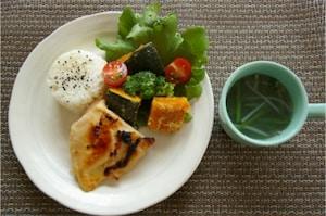鶏肉の西京焼き定食