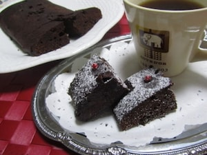 スチーマーで作るチョコケーキ