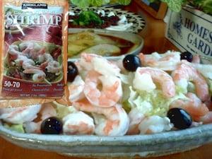冷凍エビ 尾なし調理済み(1200円~)