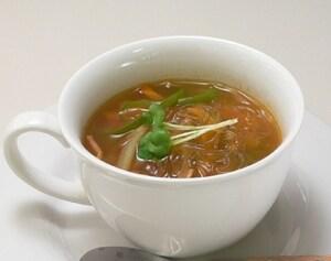 ホエーの春雨スープ