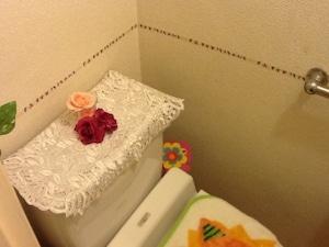 壁に貼ってプチ模様替え
