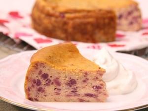 さつまいも&ヨーグルトチーズケーキ