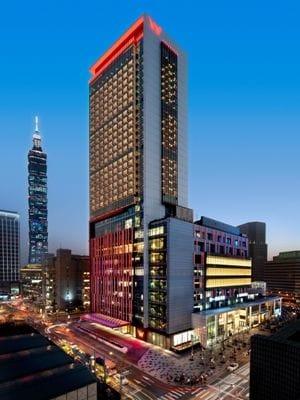 ラグジュアリーなデザインホテル、W台北ホテル