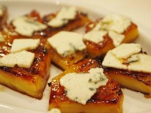 焼パイナップルにチーズをon