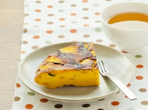 かぼちゃ黒糖フライパンケーキ