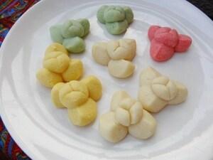 タイのお花クッキー