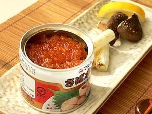 サバ缶のピリ辛みそ焼き