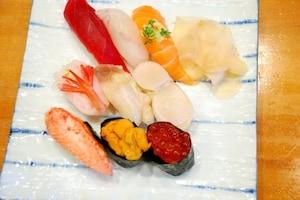 地元の人にも愛されるリーズナブルなお寿司屋さん
