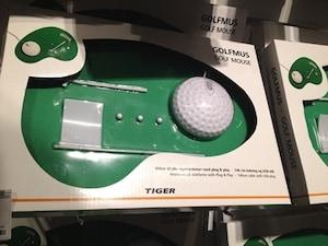 ゴルフボールマウス&グリーン
