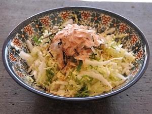 生の白菜ってこんなに美味しい! 和風白菜サラダ