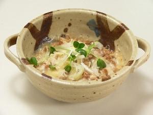 ツナ納豆ディップ