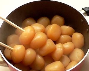 山形名物玉こんにゃくの醤油煮