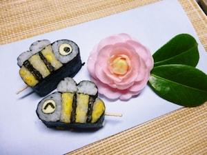 ミツバチの一口寿司