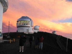 マウナケアで天体観測