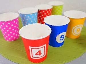 紙皿と紙コップ