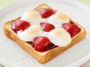 ダブル苺のマシュマロトースト