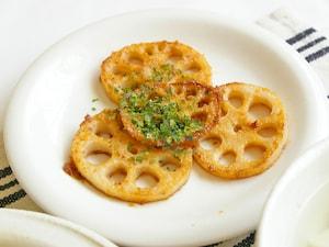 【5分】レンコンの味噌バター焼き