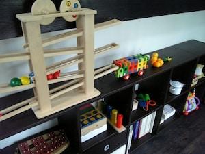 かわいいおもちゃは見せる収納