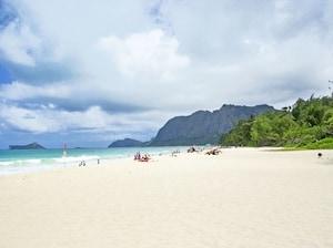 【ハワイ】オアフの穴場!ワイマナロ・ベイ・ビーチ