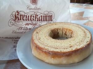 ミュンヘンのお土産といえば「クロイツカム」のバウムクーヘン!