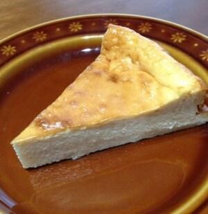 メープルバナナチーズケーキ