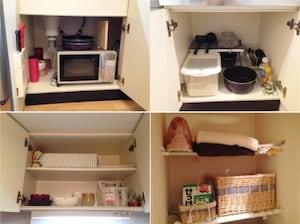 一人暮らしのキッチン・シンク下はモノを厳選して収納