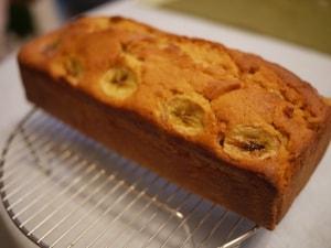 メープルバナナケーキ