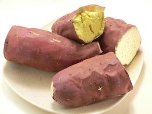 ノンオイルフライヤーで焼き芋