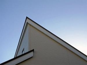 切妻屋根をずらした「差し掛け(さしかけ)」