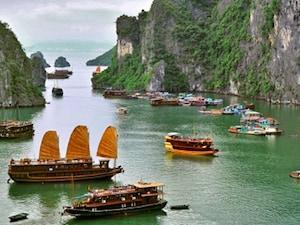【ベトナム】ハロン湾