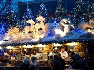 世界一大きなシュトゥットガルトのクリスマス市