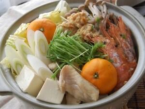 海鮮まるごとみかん鍋