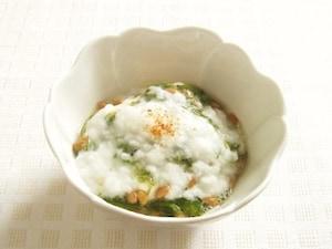 めかぶ・納豆・長芋の冷ややっこ