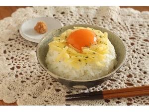 チーズ&味噌の卵かけごはん